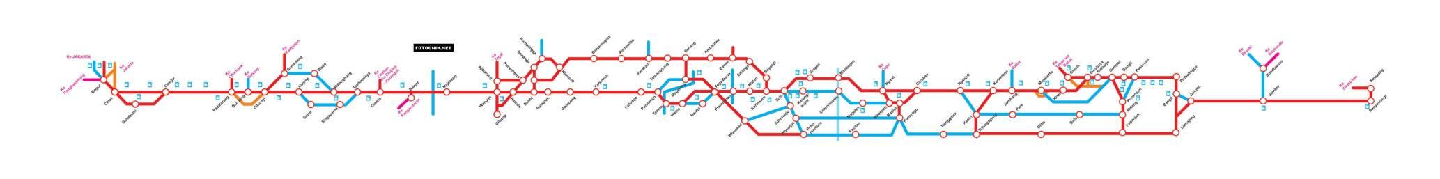 Peta Mudik 2013 Jalur Selatan