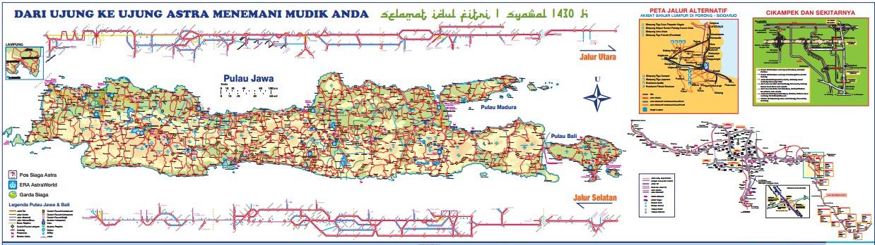 Peta Mudik 2013 Pdf