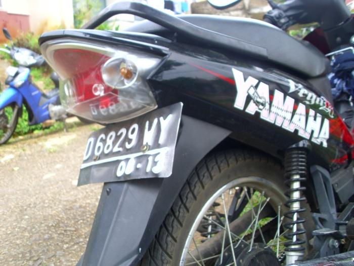 motor curian yamaha vega r 2008 bandung