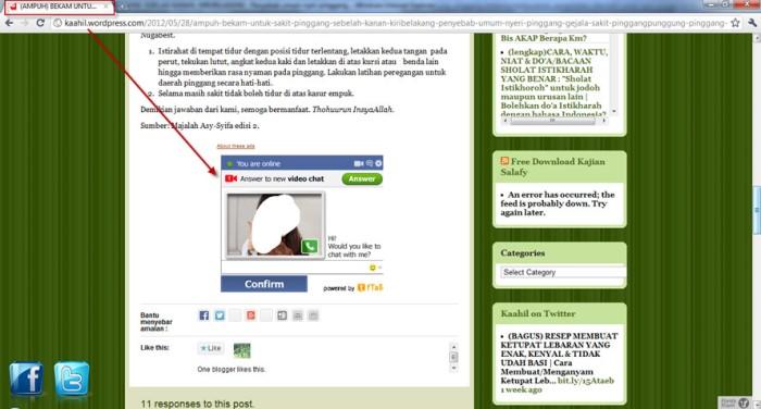 spam di blog kaahil3