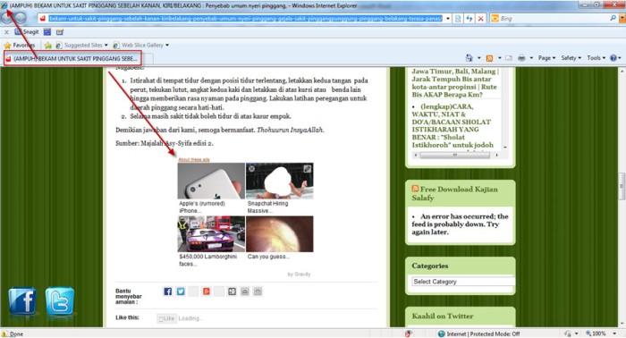 spam di blog kaahil4