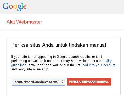 kaahil di google webmaster